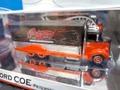 ホットウィール 1/64 ダイキャストモデル  100% HOT WHEELS◆ '38 FORD COE HAULER  Petersen-AutomotiveMuseum LTD Red&Blk/ピンストライプ ピーターセン博物館・限定モデル・希少モデル!
