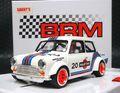 """BRM 1/24 スロットカー  090◆MINI COOPER  #20 MARTINI WHITE EDITION  1/24スケールの逸品! 1/32コースを余裕で走れるミニカーシリーズ。★""""マルティニ"""" 再入荷!"""