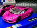"""Carrera Digital 132 スロットカー 30875◆Lamborghini Huracan LP 610-4  """"Pink""""  D132はアナログ・デジタル両用★メタリカルなピンクのクセが強い!"""
