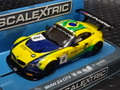 Scalextric 1/32 スロットカー C3721F◆BMW Z4 GT3 - Blancpan Series Brands Hatch 2015 ★入荷しました!