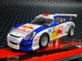 """SCX 1/32 スロットカー  A10191 ◆  PORSCHE 911 GT3  """"RED-BULL """" #9/Sebastien Loebヘッドライト点灯モデル★セバスチャン・ローブだぜ!"""