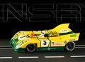 NSR 1/32 スロットカー  0095-SW◆Porsche 908/3  #5/J. Fernandez、 F.Torredemer、 E.Baturone.  Team Escuderia Montjuich, Le Mans 1972.  2019年・春の新商品◆4月末ごろ入荷予定!