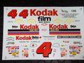 "UPSCALE GRAPHICS製 1/24 NASCARデカール ★ #4 Sterling Marlin ""Kodak Film""  Monte Carlo  希少・ウォータースライドデカール ◆懐かしいねぇ!"