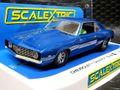 Scalextric 1/32 スロットカー C4074◆Chevrolet Camaro Z1  - blue - ライトも点灯する希少ストリートバージョン!◆新入荷!
