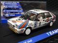 """Team Slot 1/32 スロットカー tm-12906◆Lancia Delta HF  """"Martini"""" #6/Massimo 'Miki' Biasion & Tiziano Siviero. Monte Carlo Rally 1987 Winner. 4WD! 遂に登場「モンテ優勝車」新発売!◆緊急再入荷!"""