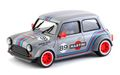 """BRM 1/24 スロットカー  090-G◆MINI COOPER  #89 MARTINI GRAY EDITION  1/24スケールの逸品! 1/32コースを余裕で走れるミニカーシリーズ。★グレーの""""マルティニ"""" ミニが入荷!"""