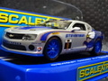 Scalextric 1/32 スロットカー C3596◆Chevrolet Camaro GT-R. Stevenson Motorsports  #9/Matt Bell , Andy Lally ハイディティールモデル★IMSA・GT-R
