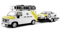 "Avantslot 1/32 スロットカー Avant-Slot / Limited Edition◆""Opel Euro Team""  OPEL MANTA with WORKING SERVICE VAN & TRAILER. 特別限定モデル!◆送料無料サービス!"