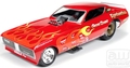 "autoworld 1/18 ダイキャストモデル  1118◆ 1971 Dodge Charger F/C  ""GENE SNOW""   NHRA Vintage FunnyCar ""Legends Of The Quarter Mile""  ビンテージ ファニーカー★必見ダッジチャージャー!!"