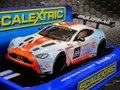 Scalextric 1/32 スロットカー C3622 ◆ GULF ASTON MARTIN VANTAGE GT3   24hr SPA 2012  #89/T.Verbergt, R. Latinne, D.Dupont , B.Baguette  前後ライト点灯 再入荷完了!★売り切れ注意・今すぐ注文を!