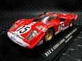 Flyslot/Slotwings 1/32 スロットカ-    F020101 ◆ Ferrari 512S - Coda Lunga  #15/Fernando Alonso Exhibition 2014 アロンソがドライブしたエキシビジョンカー!★再入荷しました!ご注文下さい。