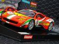 """Carrera Digital124 スロットカー  23879◆Ferrari 458 GT3  """"AF Corse, #51""""    ★アナログコースでもOK!ディティールが素晴らしい迫力の1/24スケール待望の再入荷完了!"""