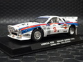 "Flyslot  1/32 スロットカ-  F046304◆Lancia Rally 037  ""Martini-Limited"" #9/ Markku Alen & Ilkka Kivimaki  1985 Safari Rally - Limited Edition of 200.   新製品・マルティーリミテッドのランチャ037登場!★入荷しました!"