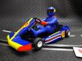 Scalextric 1/32 スロットカー  c3668◆Super Kart Blue/Yellow 2015年夏・話題の新製品! ★カート対決やりますか!