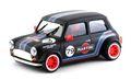 BRM 1/24 スロットカー  090-B◆MINI COOPER  #79 MARTINI BLACK EDITION  1/24スケールの逸品! 1/32コースを余裕で走れるミニカーシリーズ。★ブラック再入荷