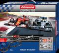 """Carrera digital132 コースセット   30183◆Race'n Rush SET """" レースアンドラッシュ""""  メルセデス・W05ハイブリッド & フェラーリ F14  F1マシン  2台入りフルセット 全長6.9m  ★待望のデジタルセットが入荷! 送料無料!"""
