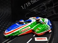 "BRM 1/18 スロットカー  SDC 04 ◆ Suzuki Motorcycle/Sidecar-Racer ""Team Castrol""   #4 /Steve Webster & Paul Woodhead   再入荷完了!★ご注文ください!"