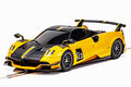 """Scalextric 1/32 スロットカー C4212◆ Pagani Huayra Roadster BC Yellow.   """"Super Resistant model""""  新発売・ご予約を!★9月後半入荷予定!"""