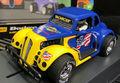 "Pioneer 1/30 スロットカー P129◆'37 Dodge Coupe #14 ""Sunoco"" -Legends Racer-  Blue- Yellow  今回はダッジクーペで「SUNOCO」が登場!★新発売!。"