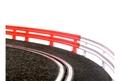 NINCO コース拡張パーツ    10201◆ガードレールset (20cmx12本入り)   ★コレがあれば危険なカーブも安心!