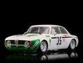 BRM 1/24 スロットカー  BRM-107 ◆ Alfa Romeo GTA 1300 Junior #35, 4h Jarama 1972 3rd Div.1  1/24ミニサルーンカーシリーズに「アルファ 1300 ジュニア」登場!★コレはお薦め!