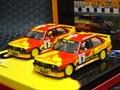 FLY  リミテッドエディション 1/32  スロットカー    C57 ◆ BMW M3 E30 Team Santa Lucia, C Espana Turismos 1993  旧FLYのリミテッド2台セット!★スペイン製・かなりレア物です!★在庫少なし!