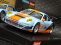 Carrera Digital124 スロットカー  23810◆Porsche GT3 RSR Gulf  #86  2014★アナログコースでも走るよ!  ディティールも素晴らしいド迫力の124ボディー!★ガルフ・ポルシェGT3入荷!