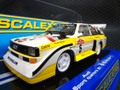 scalextric1/32 スロットカー  C3410◆ AUDI SPORT QUATTRO  #5/Walter Röhrl  WRC SAN REMO 1985   ロールのクワトロが入荷!★ライト点灯!かっこいいよ!!
