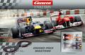 """Carrera 1/32 コースセット   25185◆Grand Prix Masters  """" グランプリ・マスターズ゙   フェラーリ150&レッドブル、F1マシン2台入り★超お買い得商品!!"""