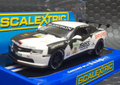 "Scalextric 1/32 スロットカー  C3391◆Chevrolet Camaro GTR  ""Yaco Racing""  #34/Geipel & Winter ADAC GT Masters 2012  ADACのカマロもええよ~!◆絶版モデル・前後ライト点灯!"