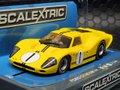 scalextric1/32 スロットカー   C3859◆ Ford MKIV  #1/Bruce Mclaren and Mario Andretti.  1967 Sebring 12 Hours Winner   ライト点灯!ハイディーティールモデル★再入荷!