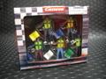 Carrera 1/32 コースサイド アクセサリー  21115◆サーキット・マーシャル /フィギュア 5体 SET   CIRCUIT MARSHALS FIGURES★貴方のサーキットに!