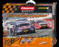 Carrera Go 1/43 コースセット 62423◆DTM TOURING CONTEST「DTM ツーリング コンテスト」ホームサーキット・フルセット BMW-M4とAUDI RS-5 2台付 ★ご家族でDTMレースが楽しめる!