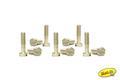 slotit製 1/32スロットカーパーツ  CH51◆ブロンズ・段付きビス ロングタイプ/2.2mm×8mm(10本入)スモールヘッド!  ◎ボディーガタ出し加工に最適!
