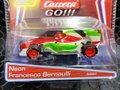 "Carrera Go 1/43 スロットカー  64001 ◆""Neon""  Francesco Bernoulli / ネオン・フランチェスコ・ベルヌーイ Disney/Pixar Cars - マシンの下でネオンが光る!★カッコいいよ!!"