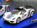 Carrera Digital132 30698◆ Porsche 918 Spyder  #23 Martini Racing  2014秋の最新モデル ヘッドライト、テールランプ点灯★便利なアナログ・デジタル両用★再入荷!