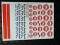 """Atalaya Slot Decals製 1/32 スロットカー用デカール DM002◆ Decals Printing DMP """"GULF"""" ガルフレーシング デカール 1/32スケール!◆ウォータースライドデカール。"""