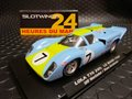 Slotwings 1/32 スロットカ-    W004-02◆ LOLA T70 MKIII GT   #7/Norinder ,Axlesson   LE MANS 1968   -Limited Edition ー   LOLA T70の新作!◆Fly-Slotから最新モデルがリリース!