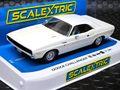"scalextric1/32 スロットカー C3935◆ Dodge Challenger 1970 (White)  ""MOPAR""ファン待望のチャレンジャーのストリートバージョン!★前後ライト点灯!"