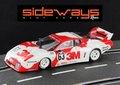 "RACER / SIDEWAYS 1/32 スロットカー   SW47◆ FERRARI 512BB "" 3M""  Le Mans 1979, Pozzi JMS Racing.  3M フェラーリ512BB、ニューモーターマウントで登場!!"