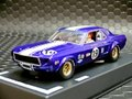 Pioneer 1/32スロットカー PO48★1968 Mustang Notchback  #19 /Jim West  'Wild Purple ★この色素敵!!