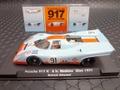 FLYSLOT 1/32 スロットカー  005106◆PORSCHE 917K Watkins Glen 1971 #91/R.Attwood  Can Am 1971  Limited Editionガルフ、750台限定モデル/全3台でシリーズ化された第1弾★再入荷!