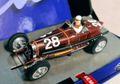 LeMans miniatures 1/32 スロットカー 132087-28M ◆ Bugatti Type 59 #28 Red, Monaco GP 1934.  大人のコレクション◆ブガッティType59 モナコGP入荷。