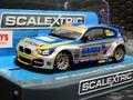 Scalextric 1/32 スロットカー C3862◆BTCC BMW 125  #100/Rob Collard  ハイディティールモデル★前後ライト点灯!◆BTCCシリーズが熱い!◆入荷完了!!