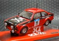 1/32 SCX スロットカー  63560◆FORD ESCORT MK2 RS1800, #11 Colin McRae & Campbell Roy  RBS Manx Rally 2007 U.K.LIMITED!★前後ライト点灯!