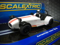Scalextric 1/32 スロットカー  ◆Caterham7  R500 /White    待望の再入荷!★海外お取り寄せ品