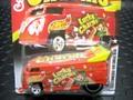 """ホットホィール 1/64 ダイキャストモデル ★ VW DRAG BUS  """"LUCKY CHARMS""""   超特価★絶版・レア!"""