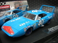 """Carrera Evolution 1/32 スロットカー  ◆'70 Plymouth SuperBird  #40 """" Petty Racing""""  ぺティーブルーがたまらん!★再入荷"""