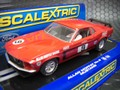 "Scalextric 1/32 SlotCar  ◆'69 FORD MUSTANG  BOSS 302 ""CocaCola""  #9/AllanMoffatRacing    世界3500台限定モデル!★現品限り!"