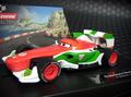 """Carrera 1/32 スロットカー ◆ Cars2 """"FRANCESCO BERNOULLI""""  【デ゙ィズニーピクサー・ カーズ2 】     メーカー欠品中レア!★ハッピーセール特価で!"""